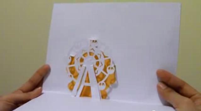 Ferris Wheel Card Ferris-wheel-popup-card