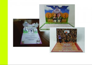 V-Fold pop up cards