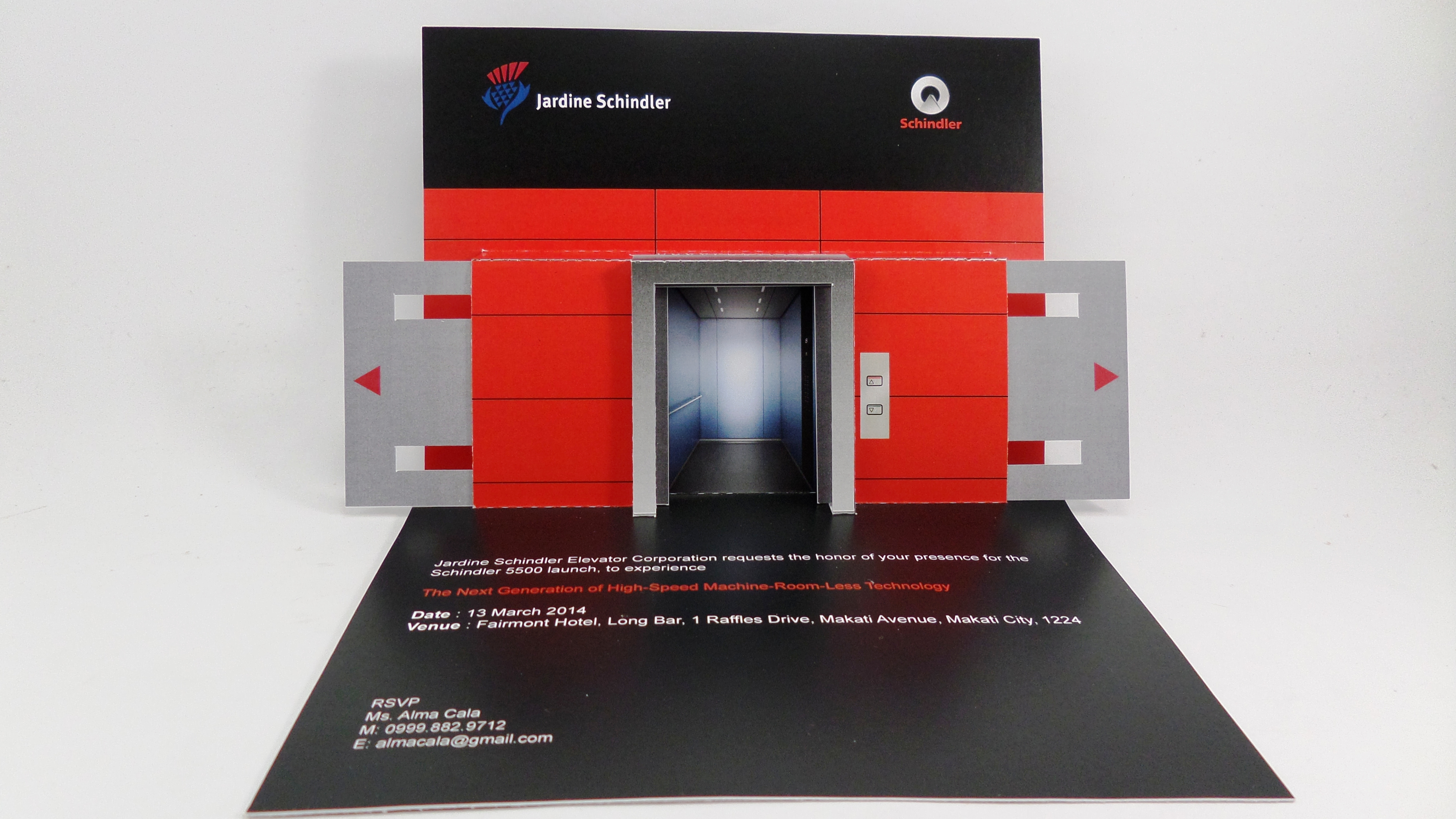 3D Pop Up Card for Product Launch | Pop Up Occasions