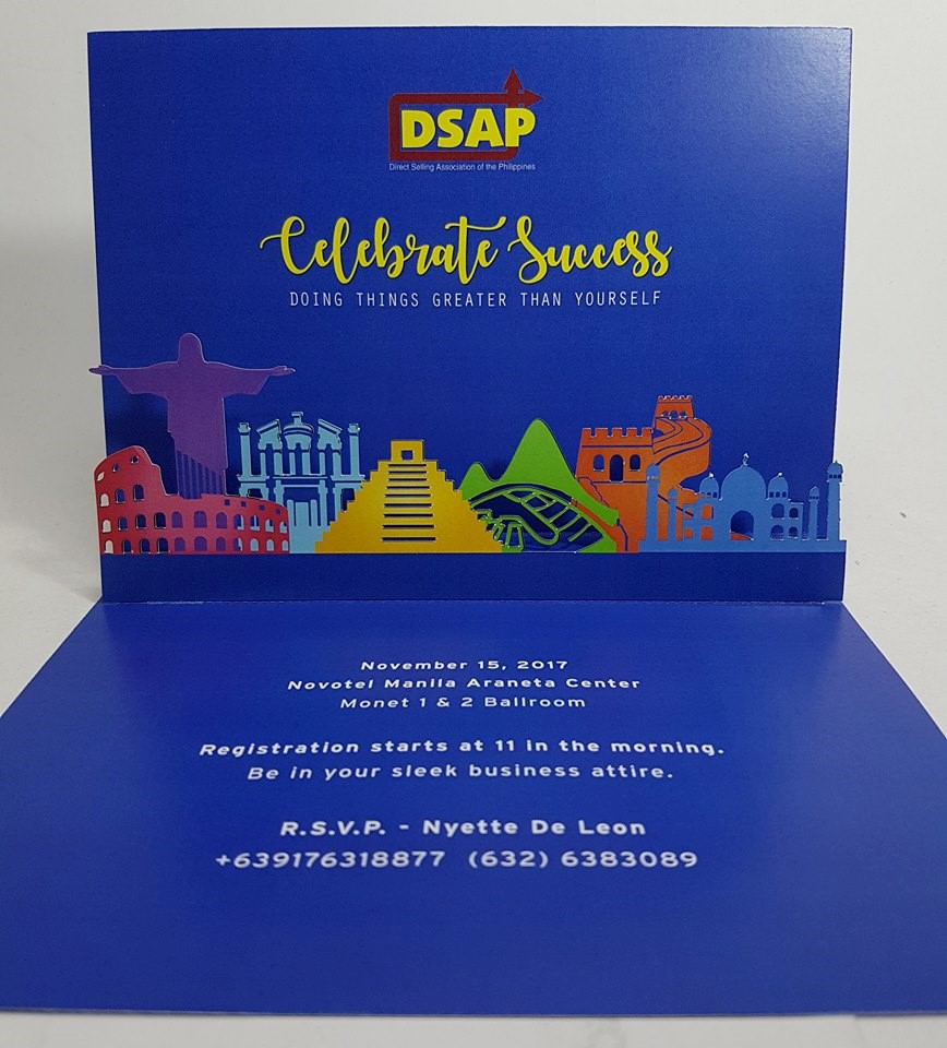 Marketing Celebration Event Invitation Card | Pop Up Occasions